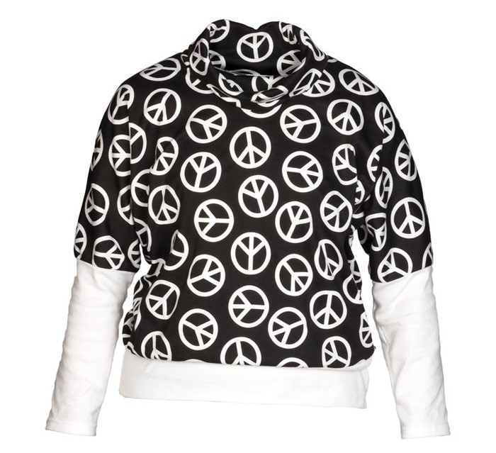 Peace Rocks - Girls Top