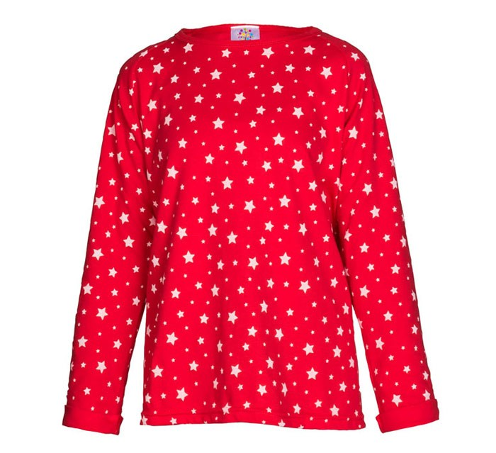 Girls Red Swing Top
